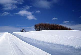 Снежный занавес…